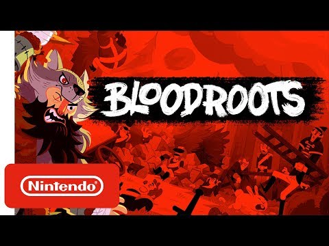 Bloodroots - Release Date Trailer - Nintendo Switch