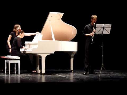 Sonata op. 46 para Clarinete y Piano de Salvador Brotons