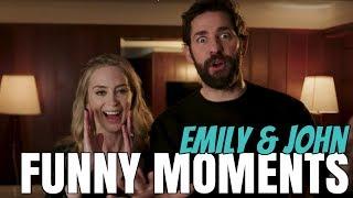 Emily Blunt & John Krasinski Funny/Sweet Moments