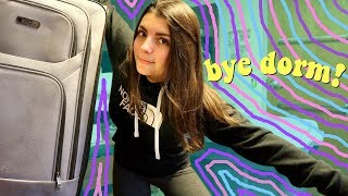 why I'm moving out of my college dorm in the middle of the semester *yikes*