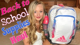 Back to School Supplies Haul 2019 / Whats In My Backpack with Ella