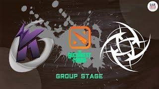 [DOTA2] Keen Gaming VS Ninjas In Pyjamas (BO3) - The Bucharest Minor Groupstage Day 1