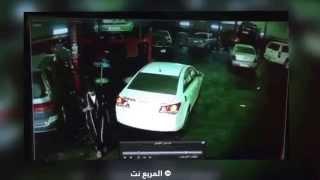 بالفيديو لحظة القبض على لص سيارات