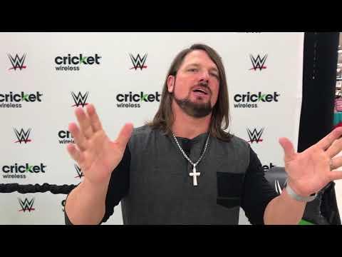 DFN: WWE AJ Styles Visits Luke AFB, AZ, UNITED STATES, 02.20.2018
