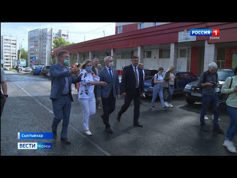 Наталья Хозяинова проинспектировала ход ремонта дорог в Сыктывкаре