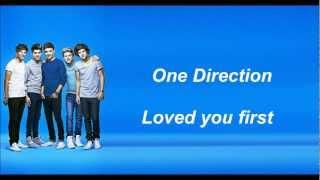 loved u first lyrics