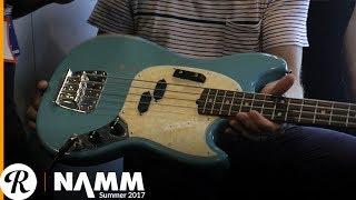 Justin Meldal-Johnsen on His Signature Fender Road Worn Mustang Bass at Summer NAMM 2017