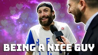 Michael Chiesa being a nice guy