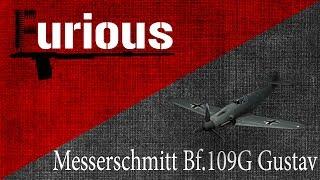 Bf.109G Gustav. Кто тут легкий?