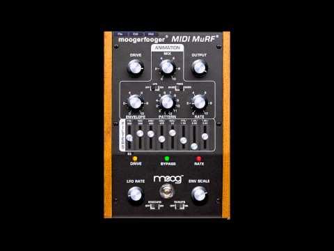 MF-105M moogerfooger MIDI MuRF by MOOG music   TEST VIDEO 2