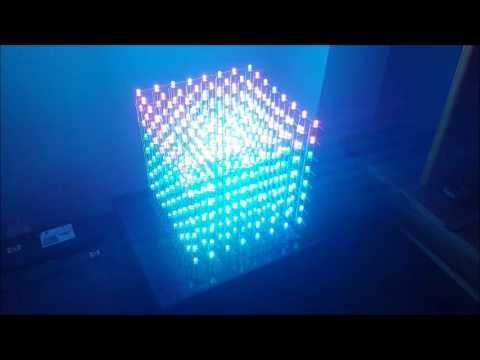 Rgb Led Cube My Station