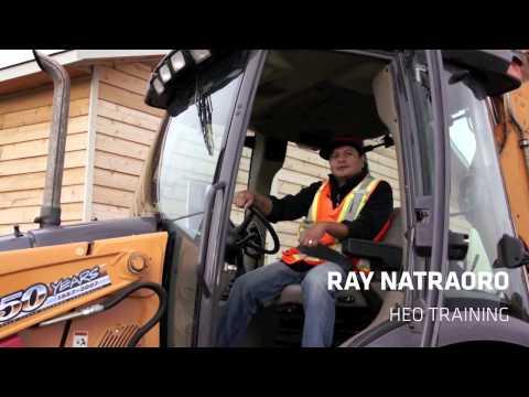 Ray Natraoro - Heavy Equipment Operator Training
