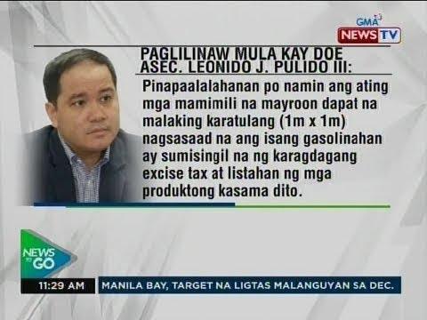 NTG: Paglilinaw mula kay DOE Asec. Leonido J. Pulido III