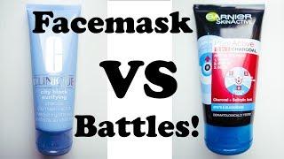 Facemask BATTLES! : Clinique VS Garnier Charcoal masks! | Alanna Campbell