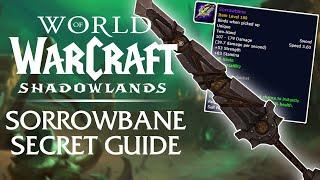 Sorrowbane Secret Weapon Guide - FREE Item Level 180 Sword! | Shadowlands