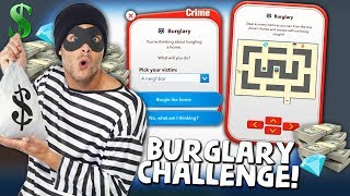 Burglarizing everyone i know to become Rich in BitLife (NEW UPDATE)