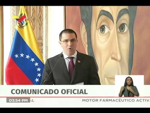 Venezuela responde ante gobierno de EEUU pidiendo recompensas por Nicolás Maduro y Diosdado Cabello