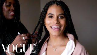 Zazie Beetz Gets Ready for the Joker Premiere | Vogue