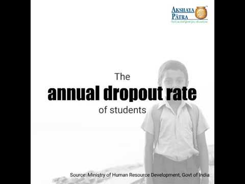 Annual Drop-Out Rate Primary Level - Akshaya Patra