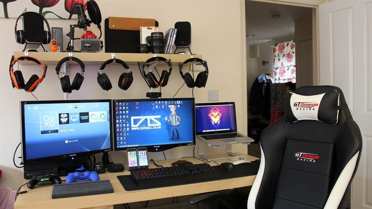 My Gaming Setup My Pc Xbox One Ps4 Amp More Summer 2014