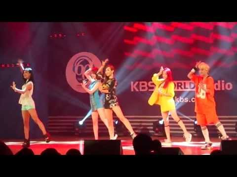 Hot Summer-에프엑스f(X) Live @ KBS Radio Hall.