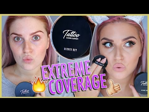 TATTOO COVER CUSHION ?? First Impression Review