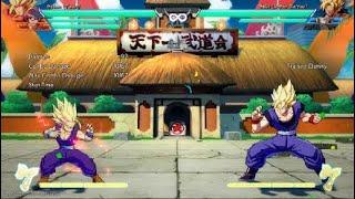 DRAGON BALL FighterZ Goku Gohan Kamehameha TOD 100% combo