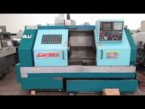 Methods Slant 50 CNC 2 Axis Turning Center  Online Auction at www.machinesused.com