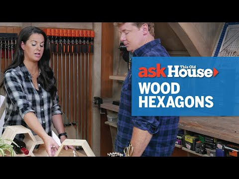 How to Make Wood Hexagons with House One's Jenn Largesse | Ask This Old House