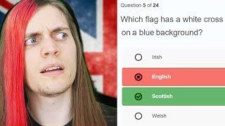 English guy takes English citizenship test