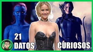 21 Datos Que NO CONOCIAS Sobre Jennifer Lawrence (Mystique X-Men Apocalypse)   ZomByte