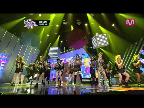 티아라N4_전원일기 feat.태운of스피드 (Jeon Won Diary by T-ara N4 Feat Taewoon of SPEED@Mcountdown 2013.5.2)
