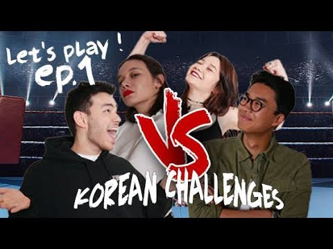 LET'S PLAY KOREAN CHALLENGES EP.1 #LAPAUSECORÉE [ENG SUB]