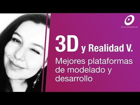 Las mejores herramientas 3D para modelado y plataformas de desarrollo de apps y juegos 3D