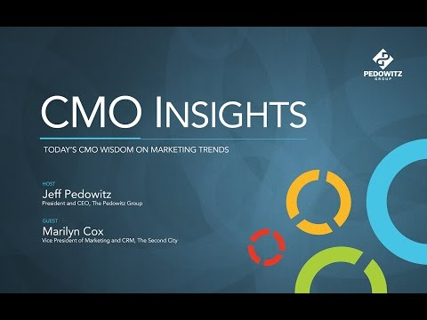 CMO Insights: Marilyn Cox, Vice President of Marketing and CRM, The Second City