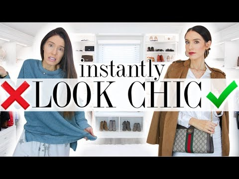Video: 10 Ways to Look CHIC & STYLISH in Under 5 MINUTES!