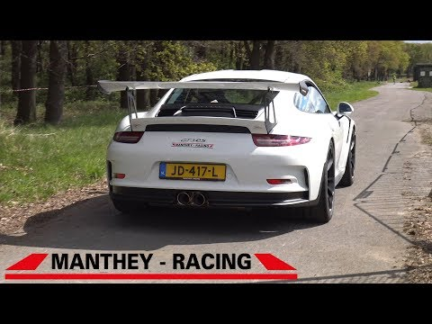 Manthey Racing Porsche 991 GT3 RS – Lovely Exhaust Sounds!