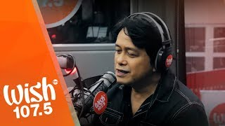 "Marco Sison performs ""My Love Will See You Through"" LIVE on Wish 107.5 Bus"