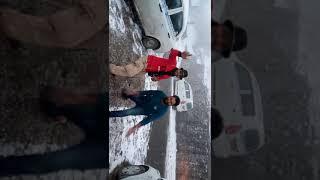 Auli first Snowfall 1st Jan,2017