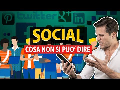 FRASI che non si possono dire sui SOCIAL NETWORK | Avv. Angelo Greco