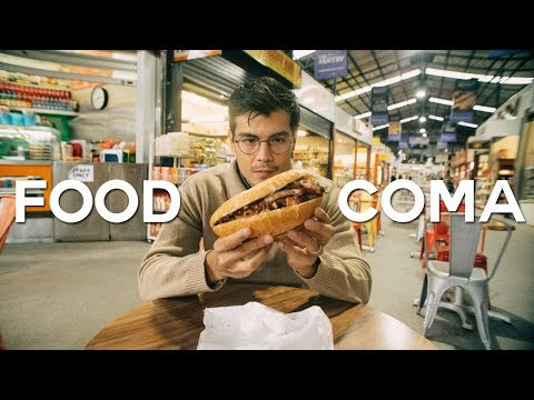 STREET FOOD IN AUSTRALIA: Best Markets in Melbourne | Overnight #5