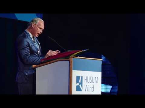 Rede von Hermann Albers auf der Husum Wind 2017