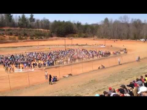 Mid East Racing Antioch Hare Scramble 2015 Bike Start