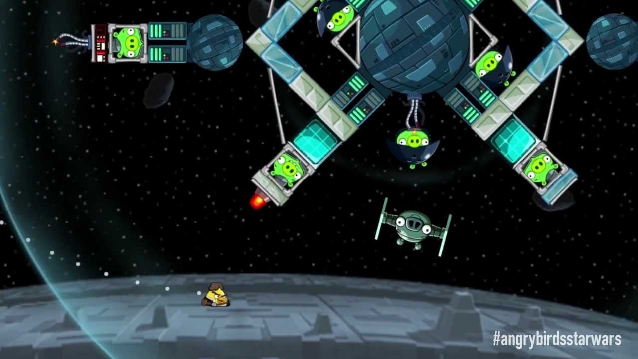 Play Angry Birds Star Wars on PC 1