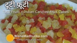 Tutti Frutti Cake Recipe In Hindi