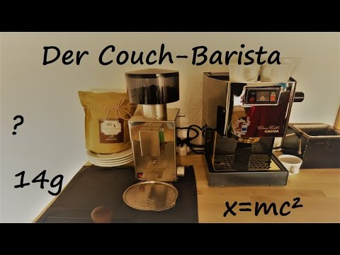 der couch barista espresso grundlagen und wie man die kaffeem hle einstellt. Black Bedroom Furniture Sets. Home Design Ideas