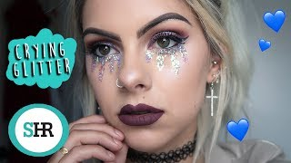 CRYING GLITTER FESTIVAL MAKEUP