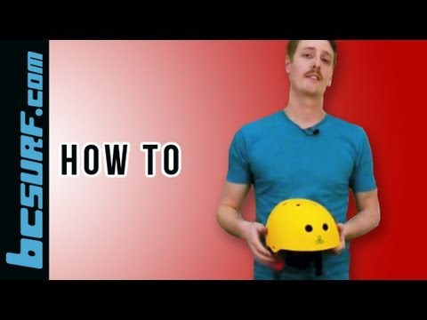 How to wear a helmet properly: watermelon safety test - BCSurf.com