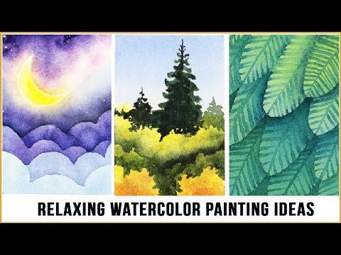 Relaxing Watercolor Painting Ideas That'll Jump-start Your Hobby!