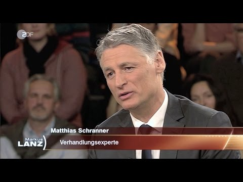 Matthias Schranner bei ZDF - Markus Lanz: 2. März, 2017